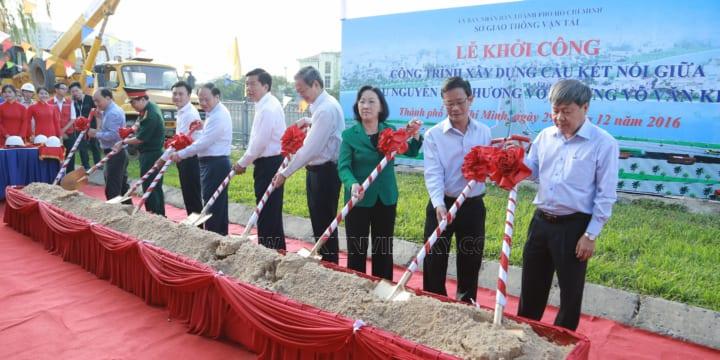 Khởi Công | Tổ chức lễ khởi công tại Đồng Nai | lễ khởi công cầu Nguyễn Tri Phương