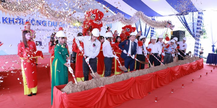 Khởi công | Công ty tổ chức lễ khởi công chuyên nghiệp tại Đồng Nai | Khởi công dự án Osimi