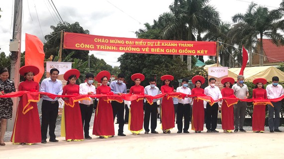 Công ty tổ chức lễ khánh thành tại Long An  Lễ khánh thành công trình Đường về biên giới Giồng Két