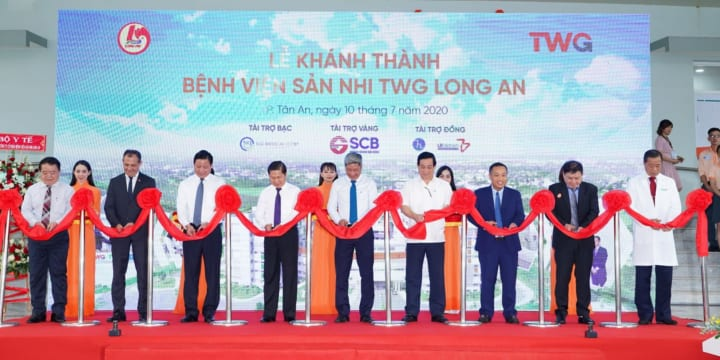 Công ty tổ chức lễ khánh thành tại Long An | Lễ khánh thànhBệnh viện Sản Nhi TWG Long An