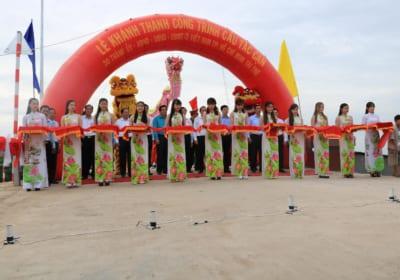 Công ty tổ chức lễ khánh thành tại Long An  Lễ khánh thànhcông trình Cầu Tắc Cạn