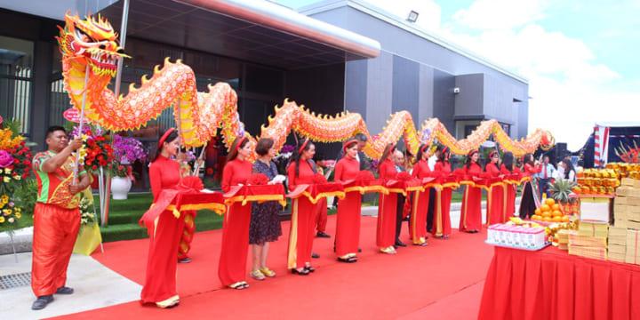 Công ty tổ chức lễ khánh thành tại Long An  Lễ khánh thành nhà máy Inox Diệu Thịnh