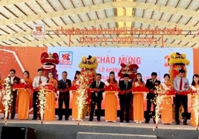 Công ty tổ chức lễ khánh thành tại Long An  Lễ khánh thànhNhà máy sản xuất phân bón Phước Hưng Long An