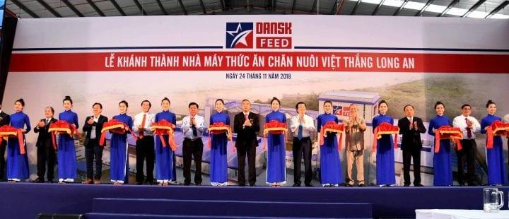 Công ty tổ chức lễ khánh thành tại Long An| Lễ khánh thànhnhà máy thức ăn chăn nuôi tại Khu công nghiệp Nhựt Chánh