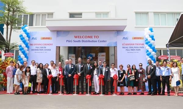 Công ty tổ chức lễ khánh thành tại Bình Dương | Lễ khánh thànhTrung tâm Phân phối miền NamP&G