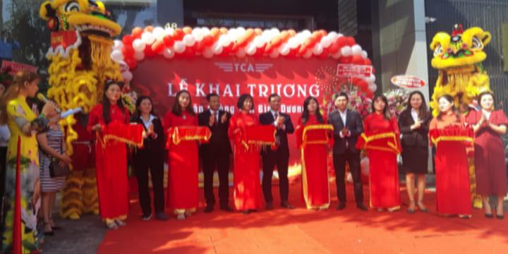 Công ty tổ chức lễ khai trương tại Bình Dương |  Khai trương Tổng đại lý Bảo hiểm TCA