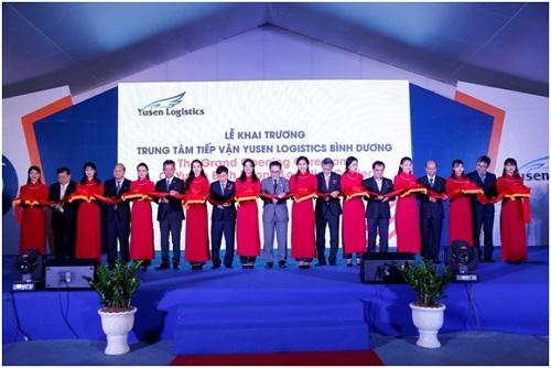 Công ty tổ chức lễ khai trương tại Bình Dương | Khai trương Trung tâm Tiếp vận Yusen Logistics Bình Dương