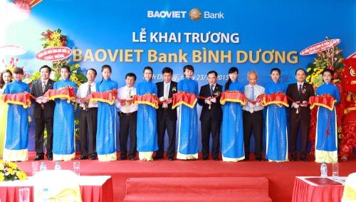 Công ty tổ chức lễ khai trương tại Bình Dương | Lễ khai trương chi nhánh mới BAOVIET Bank Bình Dương