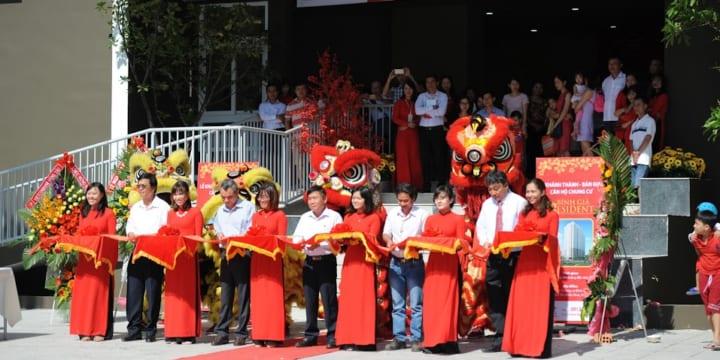 Công ty tổ chức lễ khánh thành tại Bà Rịa-Vũng Tàu | Lễ khánh thành và bàn giao căn hộ Chung cư Bình Giã Resident