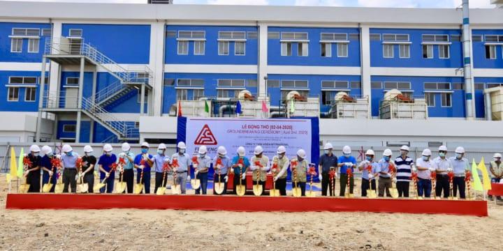 Công ty tổ chức lễ khởi công tại Bình Dương | Khởi công xây dựng khu thương mại Rạch Bắp tại Bình Dương