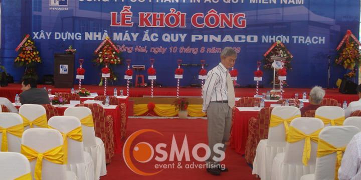 Công ty tổ chức lễ khởi công tại Bình Dương | Lễ khởi công nhà máy mới của Panasonic tại Bình Dương