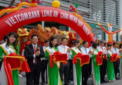 Công ty tổ chức lễ khánh thành tại Long An   Lễ khánh thànhNgân hàng TMCP Ngoại thương Việt Nam