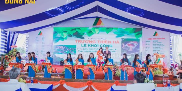 Dịch vụ chuyên tổ chức lễ khởi công tại Đồng Nai