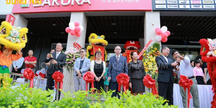 Công ty tổ chức lễ khai trương tại Đồng Nai